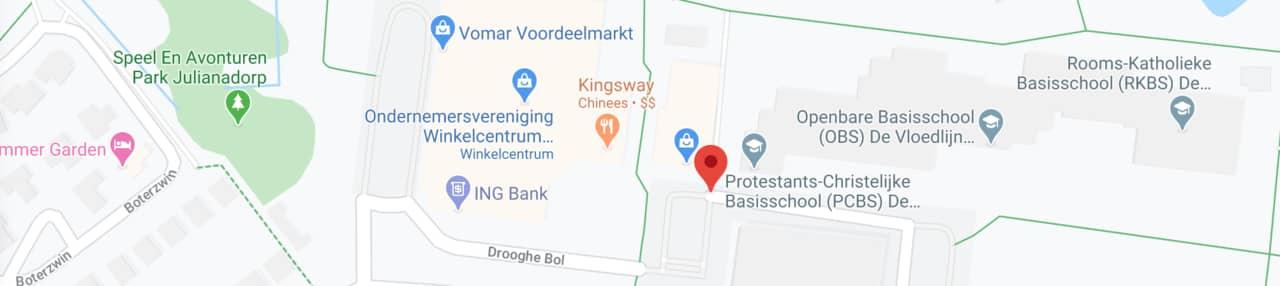 map winkelcentrum dorperweerth